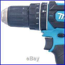 Makita DHP482 LXT 18V Cordless Combi Drill With 70 piece Accessory Bit Set