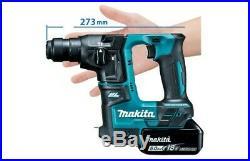 Makita DHR171Z 18V Cordless Brushless SDS Plus Rotary Hammer Drill Body Only