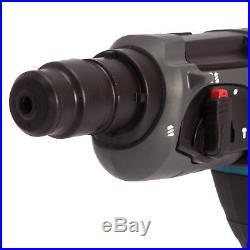 Makita DHR202Z 18V Cordless SDS+ Rotary Hammer Drill + 17pcs Acc & Chuck & Case