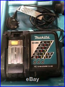 Makita DHR242 18V Brushless SDS+ Rotary Hammer Drill + Battery And Charger
