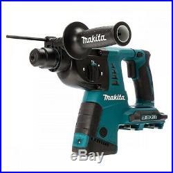 Makita DHR263ZJ 36v / 18v Twin LXT Twin SDS+ Plus Hammer Drill + Makpac + Chuck