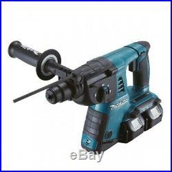 Makita DHR263Z 36v / 18v LXT Twin SDS+ Plus Hammer Drill Bare Unit