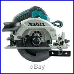 Makita DHS660Z 18v LXT Lithium Brushless Circular Saw 165mm + Guide Rail Adapter