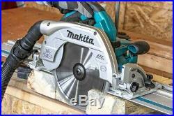 Makita DHS900Z Twin 18v 36v 235mm 9 Brushless Circular Saw LXT Guide Rail Base