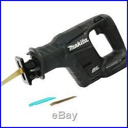 Makita DJR188Z 18v LXT Black Brushless Compact Reciprocating Saw + 2 Blades