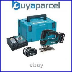 Makita DJV180RMJ 18v Jigsaw LXT Lithium Ion Cordless 2 x 4.0ah Batteries, Case