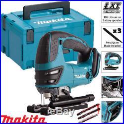 Makita DJV180Z 18V Cordless Li-ion Jigsaw Body With 821551-8 Makpac Case Type 3