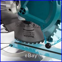 Makita DLS110 PT2 2 x 18V (36v) LXT Brushless Slide Compound Mitre Saw 2 x 5Ah