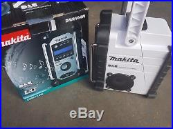 Makita DMR104 White DAB Jobsite Radio 18v 240V BMR104