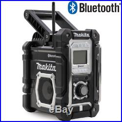 Makita DMR106B Jobsite Radio With Bluetooth & USB Charger Black Edition
