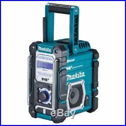 Makita DMR112 10.8V / 18V CXT/LXT Bluetooth & DAB+ Digital Job Site Radio