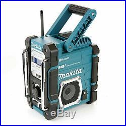 Makita DMR112 Digital DAB Site Radio DAB+ Bluetooth USB Charger 18v LXT 12v CXT