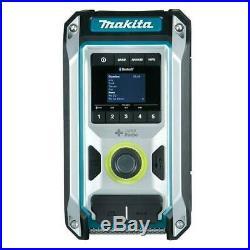 Makita DMR115 10.8V/18V CXT/LXT Bluetooth & DAB+ Digital Job Site Radio In Stock