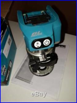 Makita (DRT50ZJ) Cordless XTR01Z 18V Brushless 1/4 Router Trimmer Tool only NIB