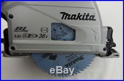 Makita DSP600Z Akku-Tauchsäge, 0-version solo 2x 18V, Handkreissäge, sehr leicht