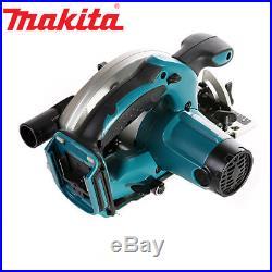 Makita DSS611Z 165mm Circular Saw + Case & 165mm x 20mm x 24T + 48T + 60T Blades