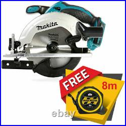 Makita DSS611 18V LXT Circular Saw 165mm With Free Pocket Tape Measures 8M/26ft