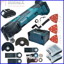 Makita DTM51Y1JX8 + 1,5Ah NEU Akku Multifunktionswerkzeug wie DTM51RM1J3, BTM50