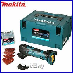 Makita DTM51ZJX7 18v Cordless Multi Tool With Makpac & 23 Pc Accessory Kit