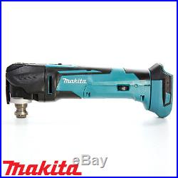 Makita DTM51Z 18v LXT Cordless Multi Tool Body With Wellcut 34pc Accessories Set