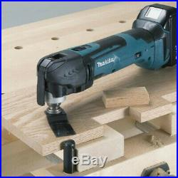 Makita DTM51Z 18v Lithium Multi Tool Keyless Blade Change + Makpac Case DTM51ZJ