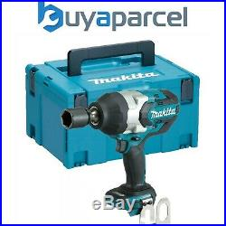 Makita DTW1001Z 18v LXT Brushless Cordless Impact Wrench 3/4 Drive + MakPac Case