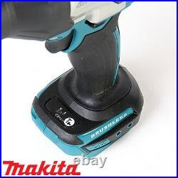 Makita DTW1002Z 18v Brushless 1/2In Impact Wrench With Free Tape Measures 8M