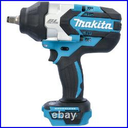 Makita DTW1002Z 18v LXT Li-Ion Cordless Brushless 1/2 Impact Wrench Body Only