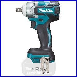 Makita DTW285Z 18V LXT Li-ion 1/2in brushless impact wrench body 3 year warranty