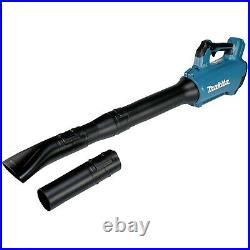 Makita DUB184Z LXT 18v Lithium Cordless Brushless Leaf Blower + Nozzles + Strap