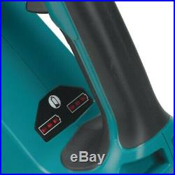 Makita DUB362Z Twin LXT 18v / 36v Lithium Brushless Leaf Blower Flat Nozzle +Bag