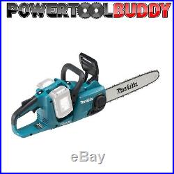 Makita DUC353Z Twin 18volt Cordless Chainsaw Li-ion Brushless Body Only15