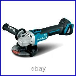 Makita Dga504z 18v Brushless Slide Switch 125mm Angle Grinder Body Only