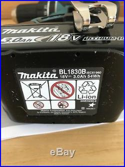 Makita Dhp482z 18v Lxt Li-ion Combi Drill 2 Speed + 3ah Battery Bl1830b