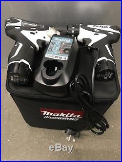 Makita Dk1493wx 10.8v Li-ion Cordless Combi Drill Hp330 + Td090 Impact Driver Se