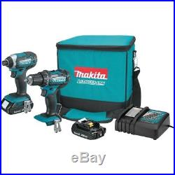 Makita Drill Driver Kit CT225R LXT 18V 2.0 Ah Li-Ion Impact Diver & 1/2