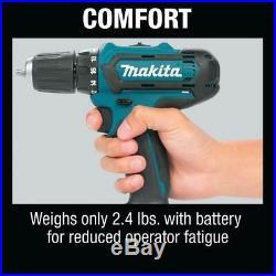 Makita Drill/Impact Driver Combo Kit 12-Volt Lithium-Ion Bag Battery Charger