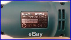 Makita Dtm51z 18v Lxt Cordless Multi Cutter Multi-tool Body Only