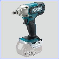 Makita Dtw190z 18 Volt Cordless Lithium Ion Impact Wrench 1/2 (bare Unit)