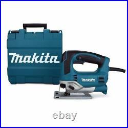 Makita JV0600K 6.5 Amp 500-1,300 Spm Tool-Less Corded Top Handle Jig Saw