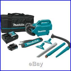 Makita LC09A1 12V max 2.0Ah CXT Lithium-Ion Cordless Vacuum Kit