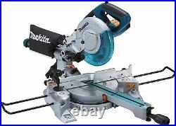 Makita LS0815FL 110v Sliding Compound Laser Mitre Saw 216mm + DEAWST06 Leg Stand
