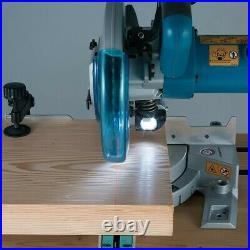Makita LS0815FL 240v Sliding Compound Laser Mitre Saw 216mm + DEAWST06 Leg Stand