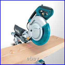 Makita LS1018L 110v 260mm Laser Bevel Sliding Mitre Saw with Blade and Leg Stand