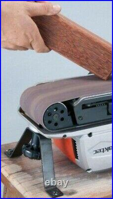 Makita M9400 4 100mm x 610mm Belt Sander 240v + 6 Sanding Belts + Makpac Case