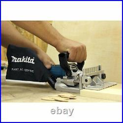 Makita PJ7000 5.6 Amp 11,000 Rpm Slim Ergonomic Depth Adjusting Plate Joiner