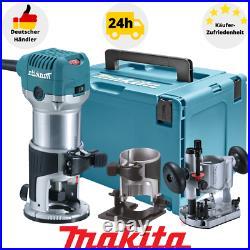 Makita RT0700CX2J Oberfräse Einhandfräsmaschine inkl Fräszubehör Makpac Gr. 4