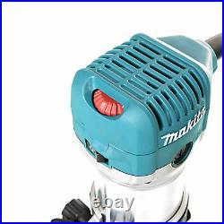 Makita RT0700CX4 1/4 Router/Laminate Trimmer With Trimmer Guide 240V
