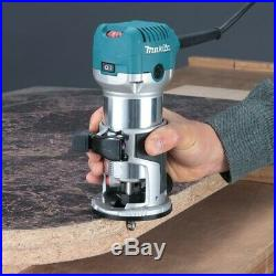 Makita RT0700CX4 1/4 Router / Laminate Trimmer with Trimmer Guide 240V 710w