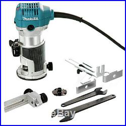 Makita RT0700CX4 Router/Laminate Trimmer 240V With 1/4 12 Pcs Cutter Set & Bag